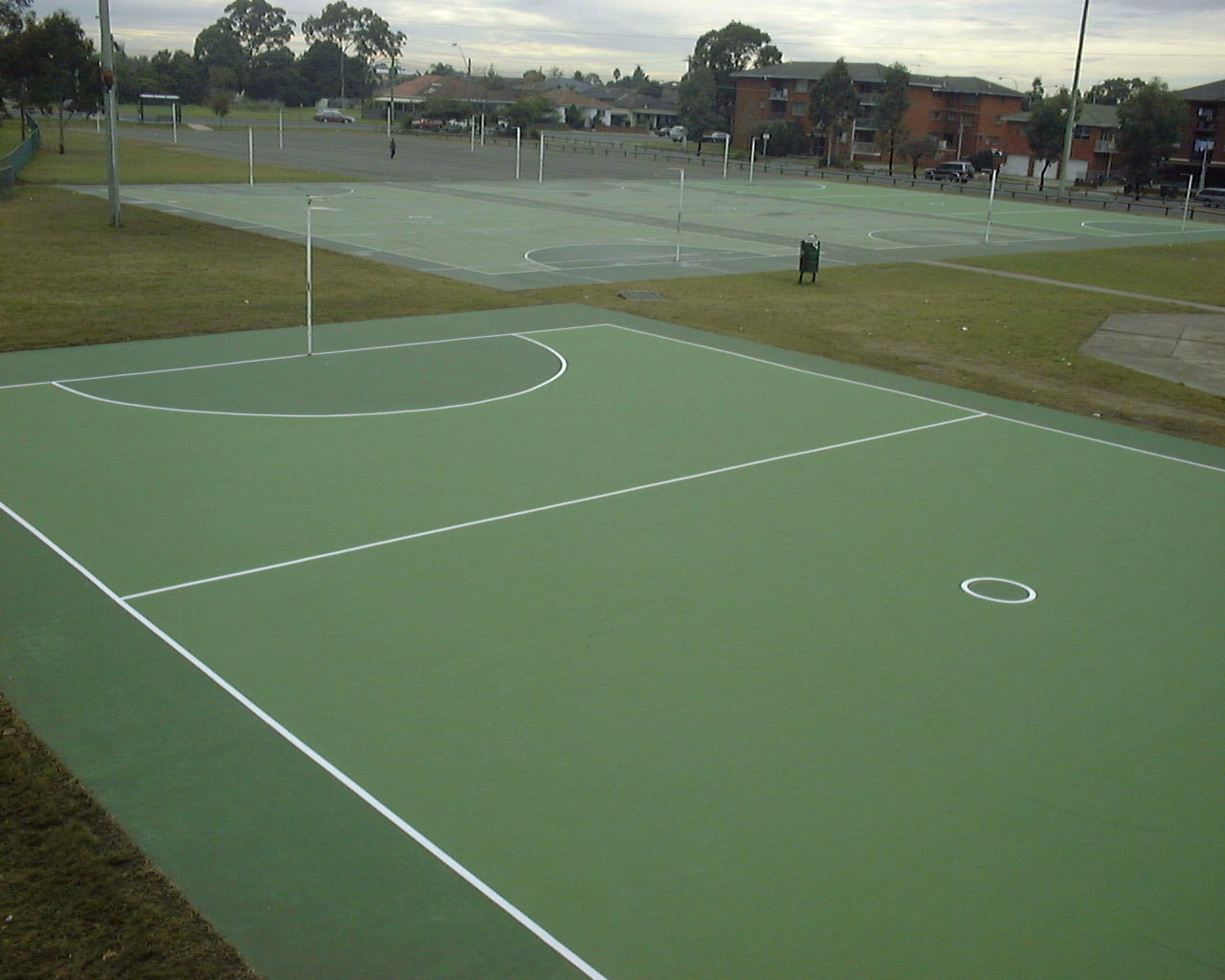 Netball Court for Liverpool City Council