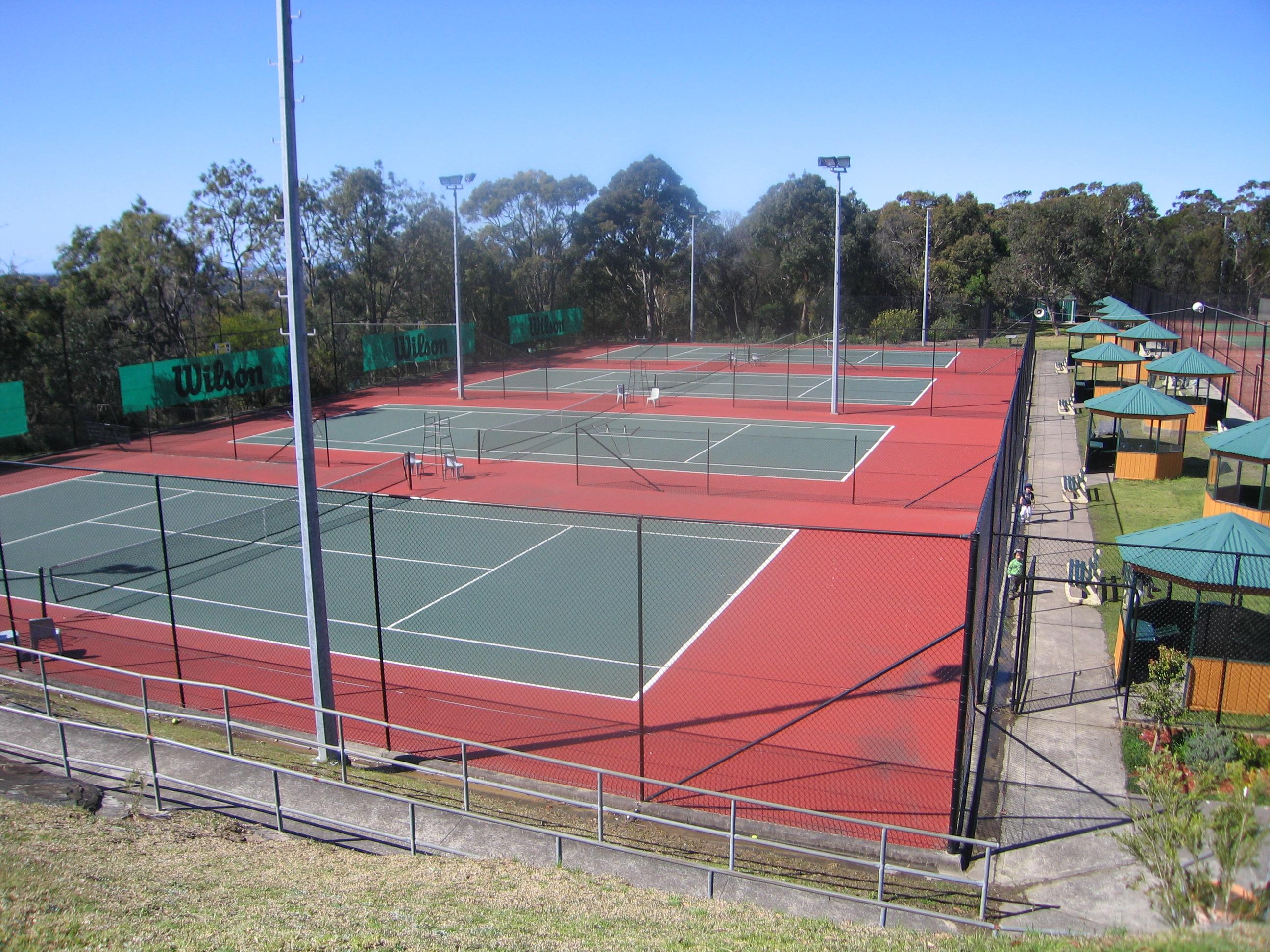 Tennis court - Northern beaches