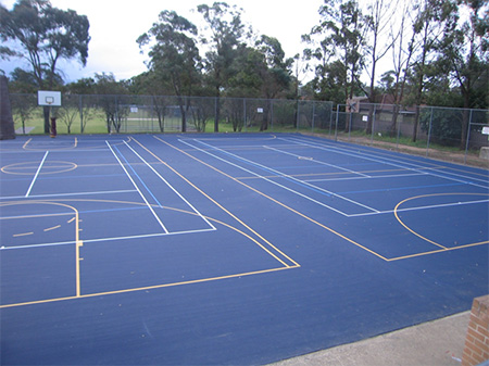 How do i build a tennis court recreational surfacing for How to build basketball court